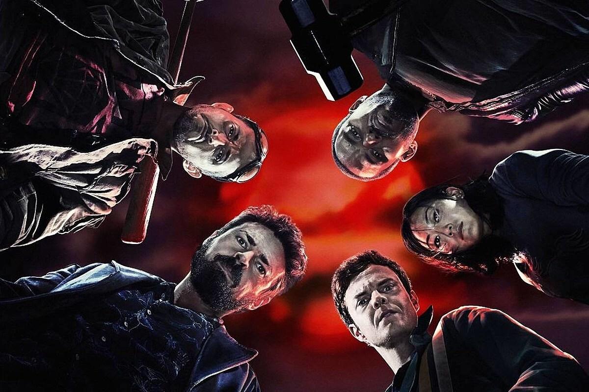 Фото: Карл Урбан, Дженсен Эклс и Джек Куэйд передают привет со съемок третьего сезона «Пацанов»