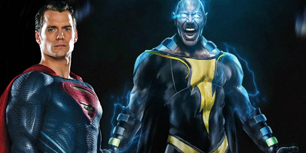 Дуэйн Джонсон объяснил разницу между Черным Адамом и Суперменом