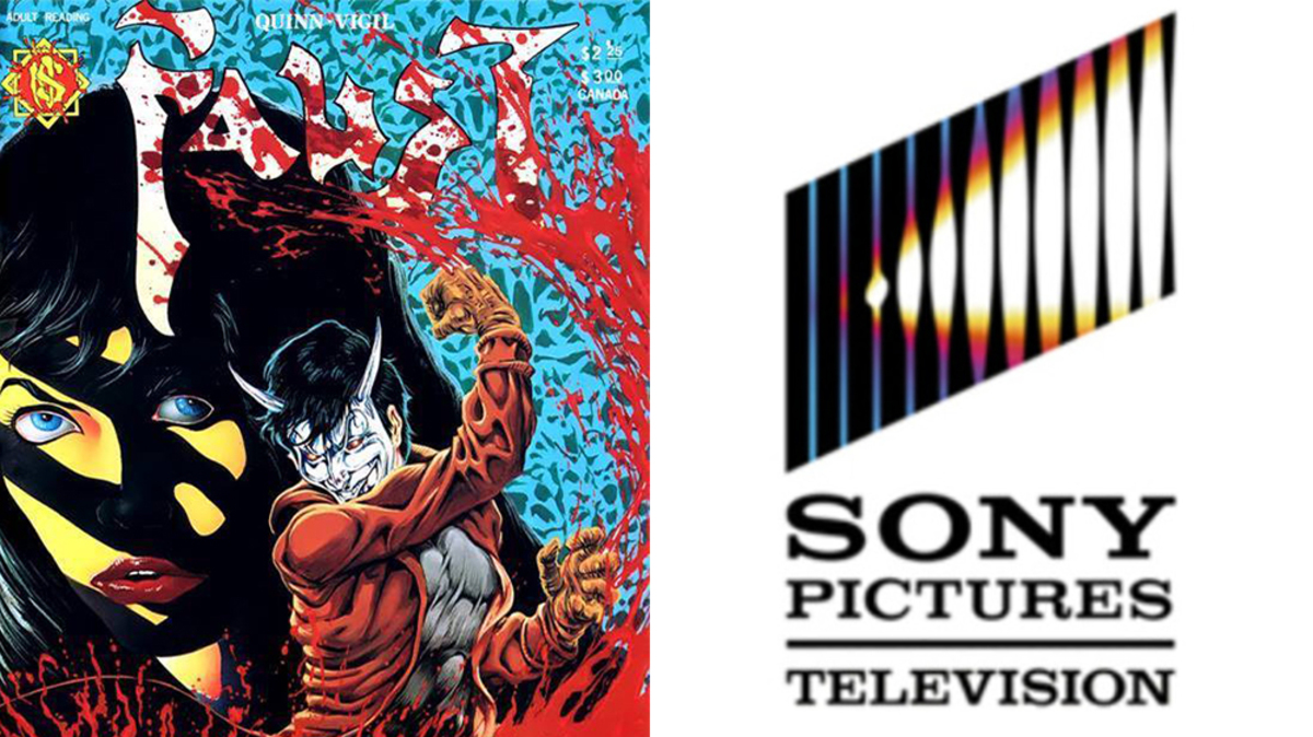 Sony снимет мультсериал по серии комиксов «Фауст» 80-х годов