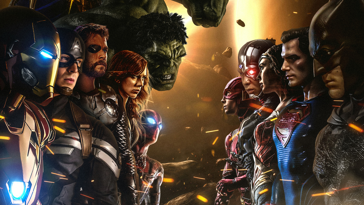Согласно свежему исследованию, Marvel оказался популярнее DC