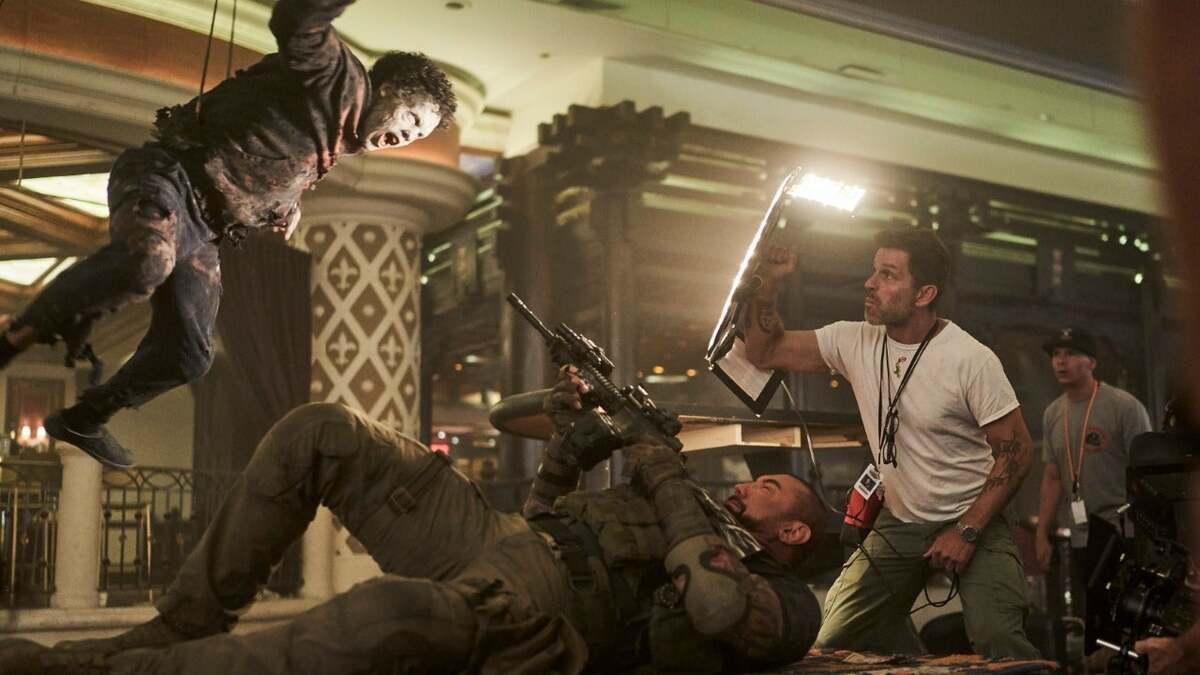 Зак Снайдер рассказал, что в «Армии мертвецов» будут «зомби-роботы»