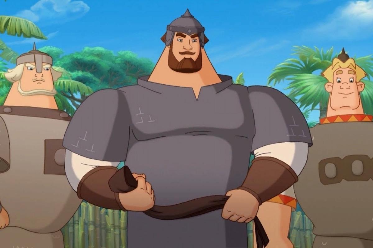 Кто озвучивает богатырей в мультфильмах серии «Три богатыря»?