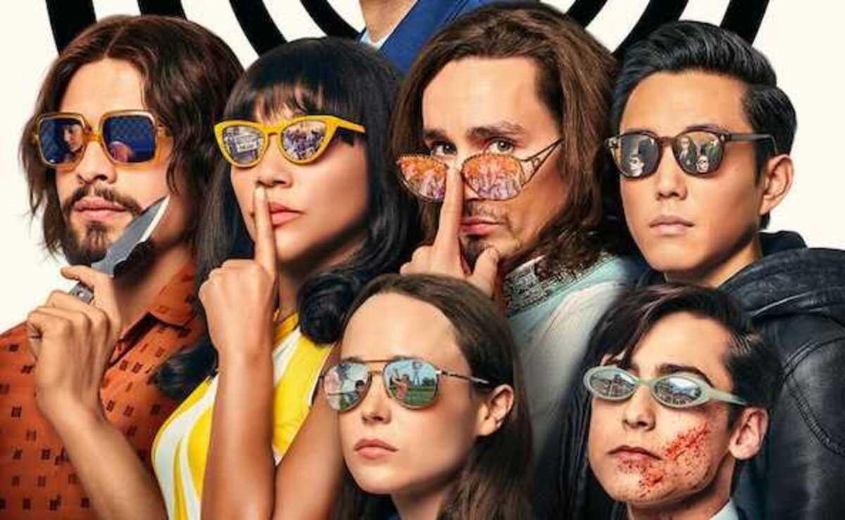 Netflix предлагает поискать пасхалки на новом постере 2 сезона «Академии Амбрелла»