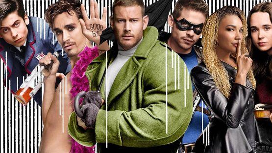 Герои «Академии Амбрелла» получили новые персональные постеры в преддверии премьеры 2 сезона